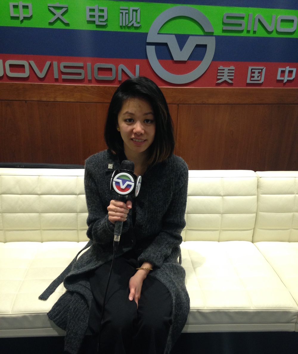Speaking to Sinovision's English channel (Chinese tv) about why I created QNS MADE and what I see for its future