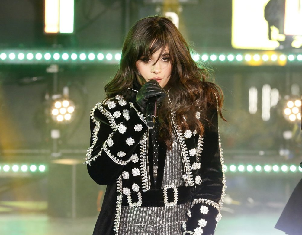 Camila Cabello in Raisa & Vanessa performs live on Dick Clark's 2018 New Year's Eve Show in Times Square, NYC.