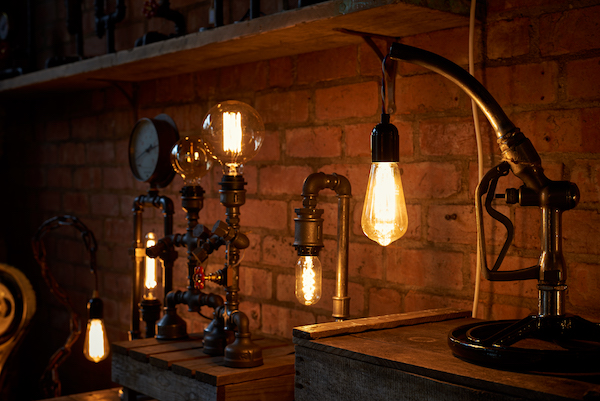 - We love to create bespoke, hand-made  lamps and light fittings that will make a statement, create warmth and start conversations.
