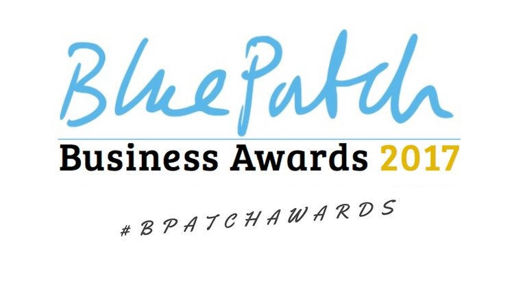 #bpatchawrds 2017 UPCYCLED CREATIVE Blue Patch Business Awards 2017