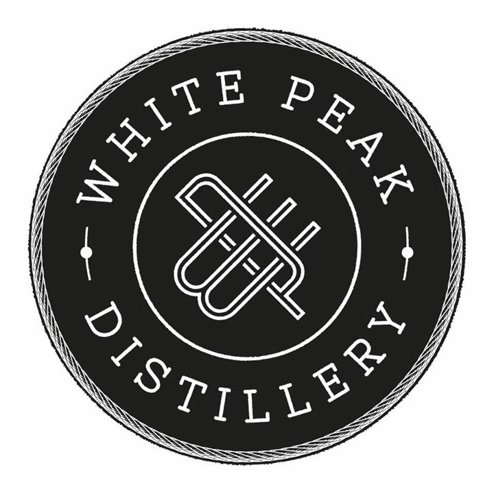 White Peak Distillery lighting by Upcycled Creative