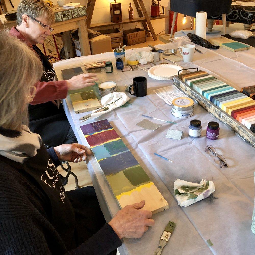 Fusion Paint Workshop