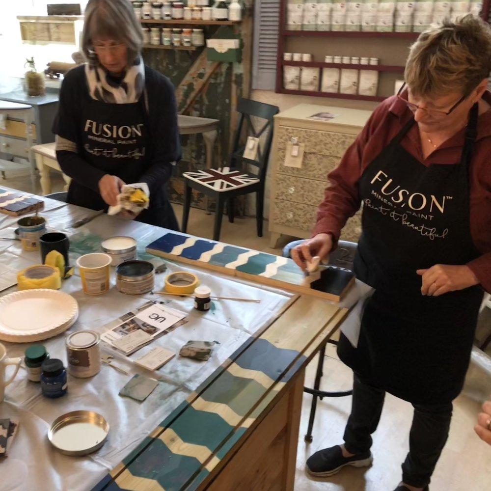 Furniture Painting Workshop, Derbyshire