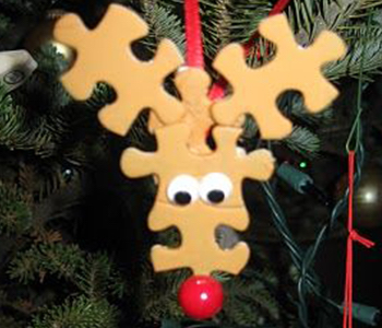 Upcycle Christmas Tree Ornaments