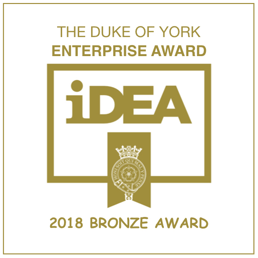 DUKE OF YORK ENTERPRISE AWARD IDEA BRONZE AWARD - UPCYCLED CREATIVE.jpeg