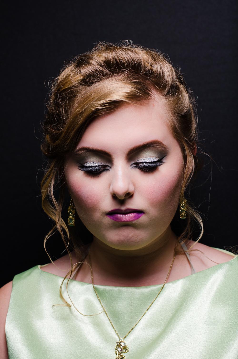 Prom Makeup Shoot
