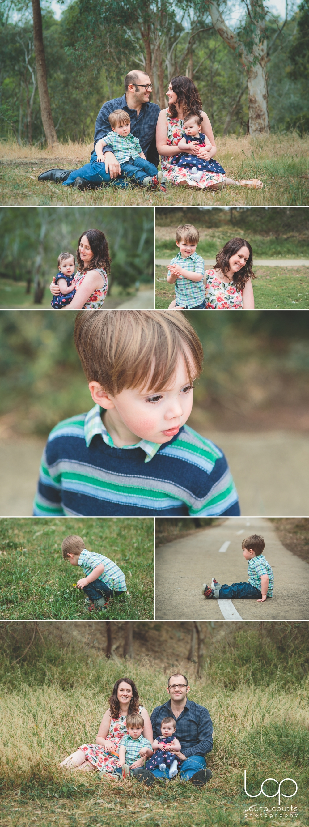 Family at the park | Melbourne family photography | Laura Coutts Photography