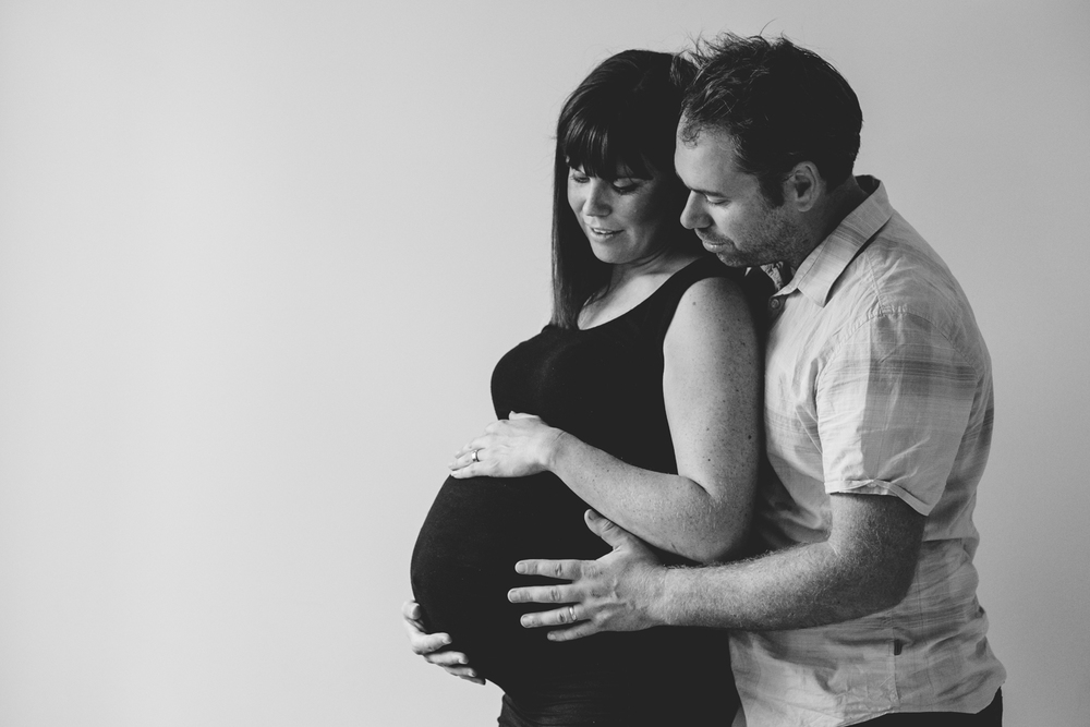 Melbourne maternity photography couples session | Laura Coutts Photography