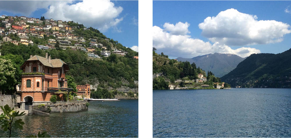Stunning Lake Como views.