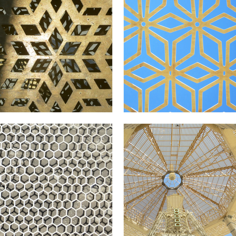 Lattices, lasercuts and overlays.