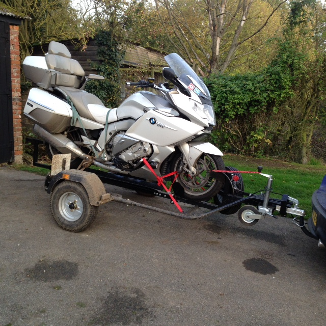 The MSW RoRo Trailer is suitable for motorbikes of all shapes and sizes.