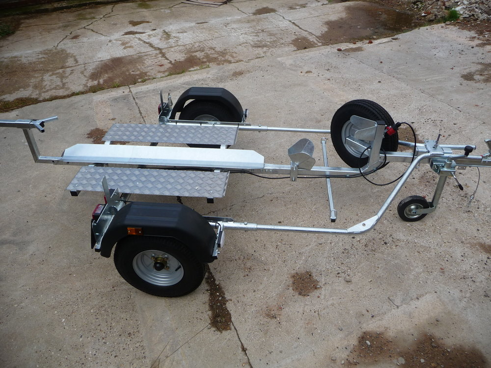 Fully galvanised trailer