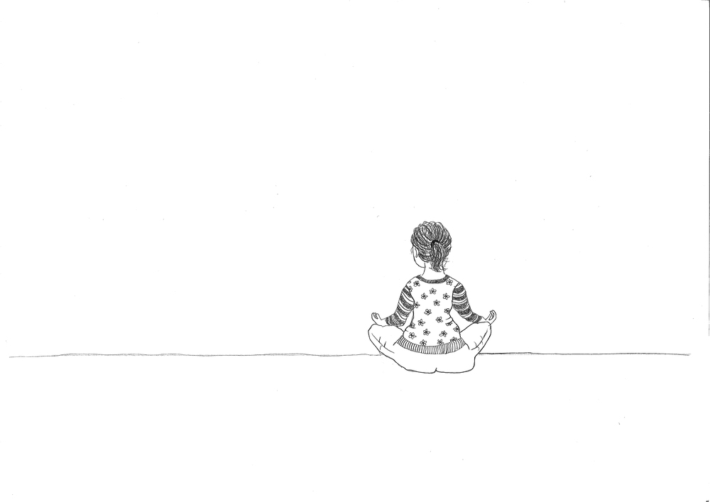Min tegning til Mindfulness-kurser