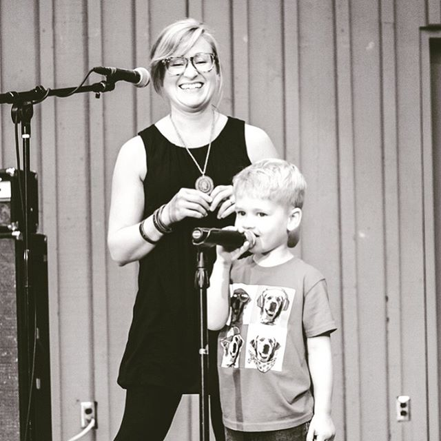 Jessica and her son Griffin co-wrote Love, Close the Door from Grain of the Sky. We had the privilege of him joining us a couple times on stage during the writing and recording of our third album. The whole process was a huge co-writing and collaborating project, and all of our fans, friends and family contributed as well by support a successful crowd-funding campaign. It allowed us to pay for studio time so we could record quickly and get it done before Libby moved to Africa. That week in the studio was precious for all of us, and we believe we captured the love we have for each other and music on Grain of the Sky. --- Last show before #hiatus Tonite #marysplacerockford $5 admission (ages 21+) 9:00 @thelonecanary 10:00 @zachpietrini 11:00 @starliteradio --- #grainofthesky #vibehouseproductions #vibehousestudio #starliteradio