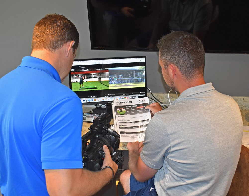 We can monitor game film throughout the season