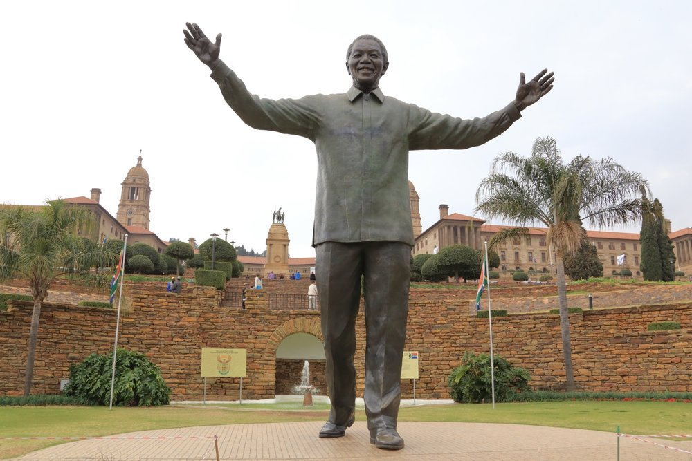 Mandela's Statue    The most famous symbol of the  Cradle of Life . 16 August 2014. Pretoria, South Africa. 1/125 s, f/11, ISO 400, 28 mm, EOS 6D + EF 28-300 L