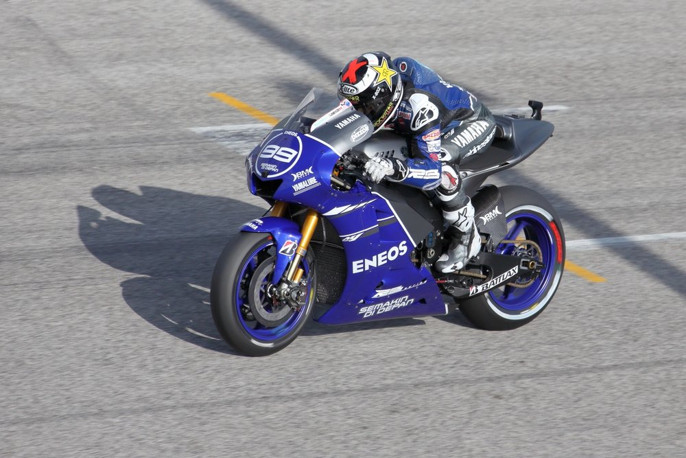 Jorge Lorenzo! MotoGP @ 2012 Misano Adriatico & Rep. of San Marino. 16 September 2012. 1/2000 s, f/7.1, ISO 400, 300 mm, EOS 5D MkII + EF 28-300 L