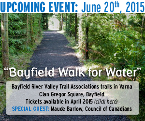 Bayfield Walk for Water Event