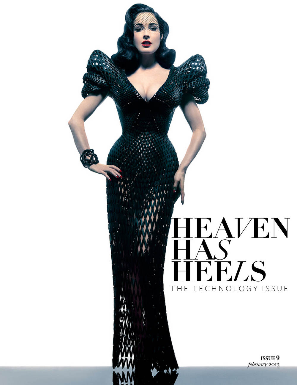 Heaven Has Heels Magazine | February Issue