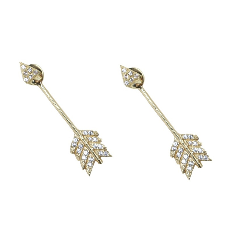 Pamela Love Arrow Earrings