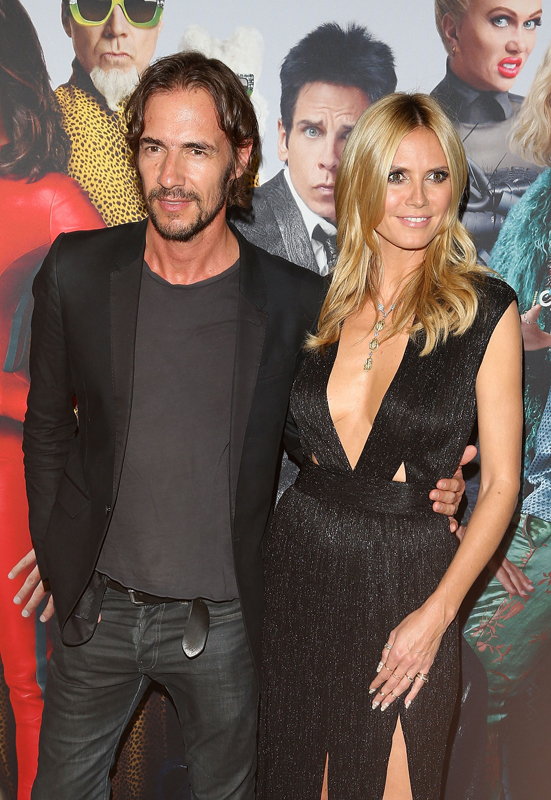 SYDNEY, AUSTRALIA - JANUARY 26: Heidi Klum and Thomas Hayo attend the Sydney Fan Screening Event of the Paramount Pictures film 'Zoolander No. 2' at the State Theatre on January 26, 2016 in Sydney, Australia. (Photo by Caroline McCredie/Getty Images for Paramount Pictures)
