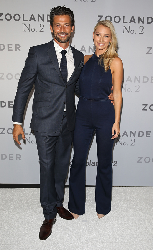 SYDNEY, AUSTRALIA - JANUARY 26: Tim Robards and Anna Heinrich attend the Sydney Fan Screening Event of the Paramount Pictures film 'Zoolander No. 2' at the State Theatre on January 26, 2016 in Sydney, Australia. (Photo by Caroline McCredie/Getty Images for Paramount Pictures)