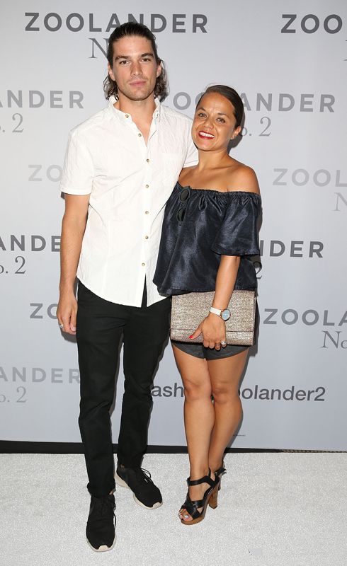 SYDNEY, AUSTRALIA - JANUARY 26: Jackson Gallagher and guest attends the Sydney Fan Screening Event of the Paramount Pictures film 'Zoolander No. 2' at the State Theatre on January 26, 2016 in Sydney, Australia. (Photo by Caroline McCredie/Getty Images for Paramount Pictures) *** Local Caption *** Jackson Gallagher