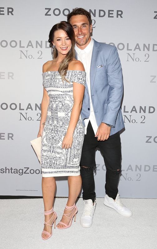 SYDNEY, AUSTRALIA - JANUARY 26: Lisa Hyde and Tyson Mayr attend the Sydney Fan Screening Event of the Paramount Pictures film 'Zoolander No. 2' at the State Theatre on January 26, 2016 in Sydney, Australia. (Photo by Caroline McCredie/Getty Images for Paramount Pictures)