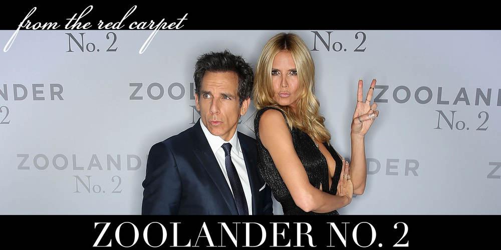 Zoolander No. 2 Premiers
