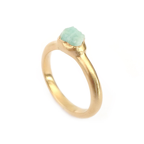 4. Mabel Hasell - Gold plated apatite  crystal ring.jpg