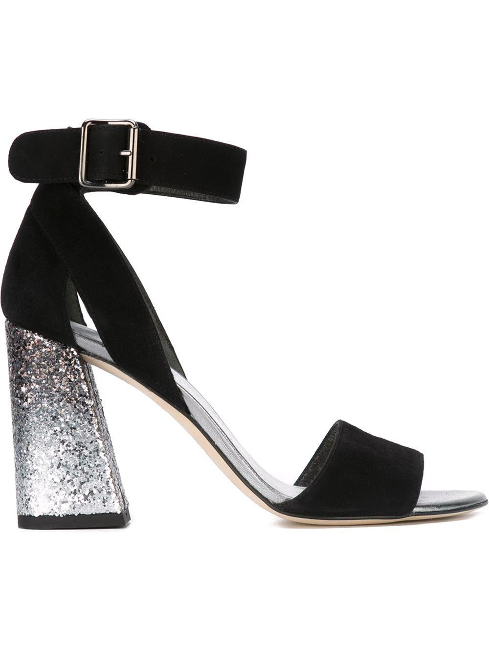 Stuart Weitzman Mostly Suede sandals, FarFetch.com