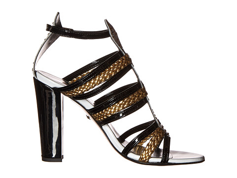 Just Cavalli calf and leather patent heels, Couture.Zappos.com