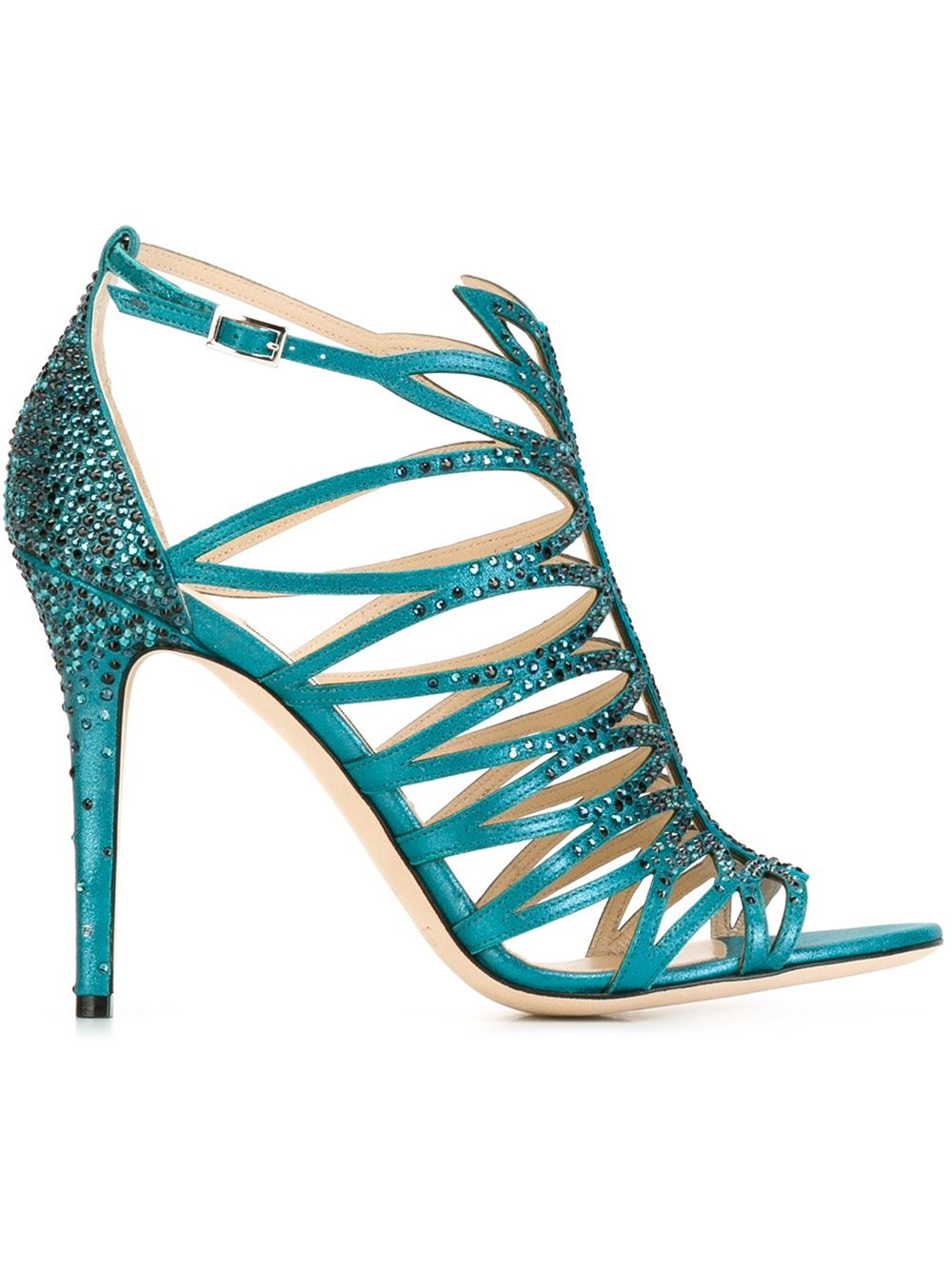 Jimmy Choo Kaye sandals, FarFetch.com