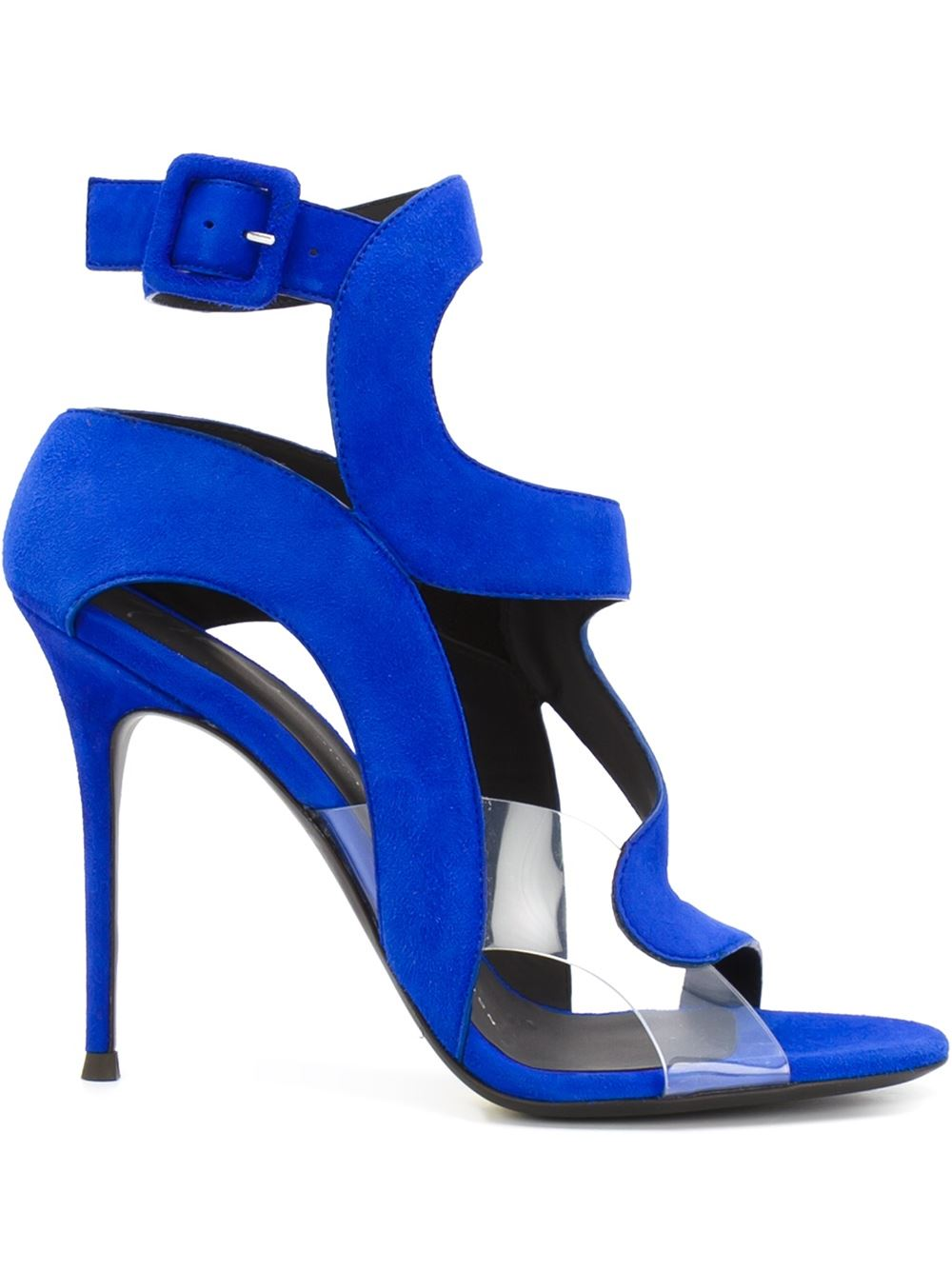 Giuseppe Zanotti Design curved strap sandal, FarFetch.com