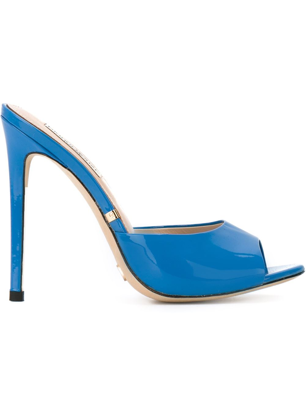 Gianna Renzi stiletto mules, FarFetch.com