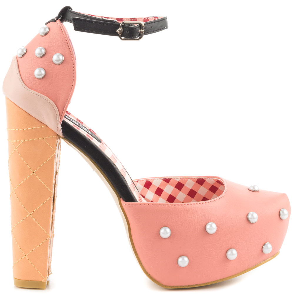 IRON FIST Peaches and Cream platform $74.99, Heels.com