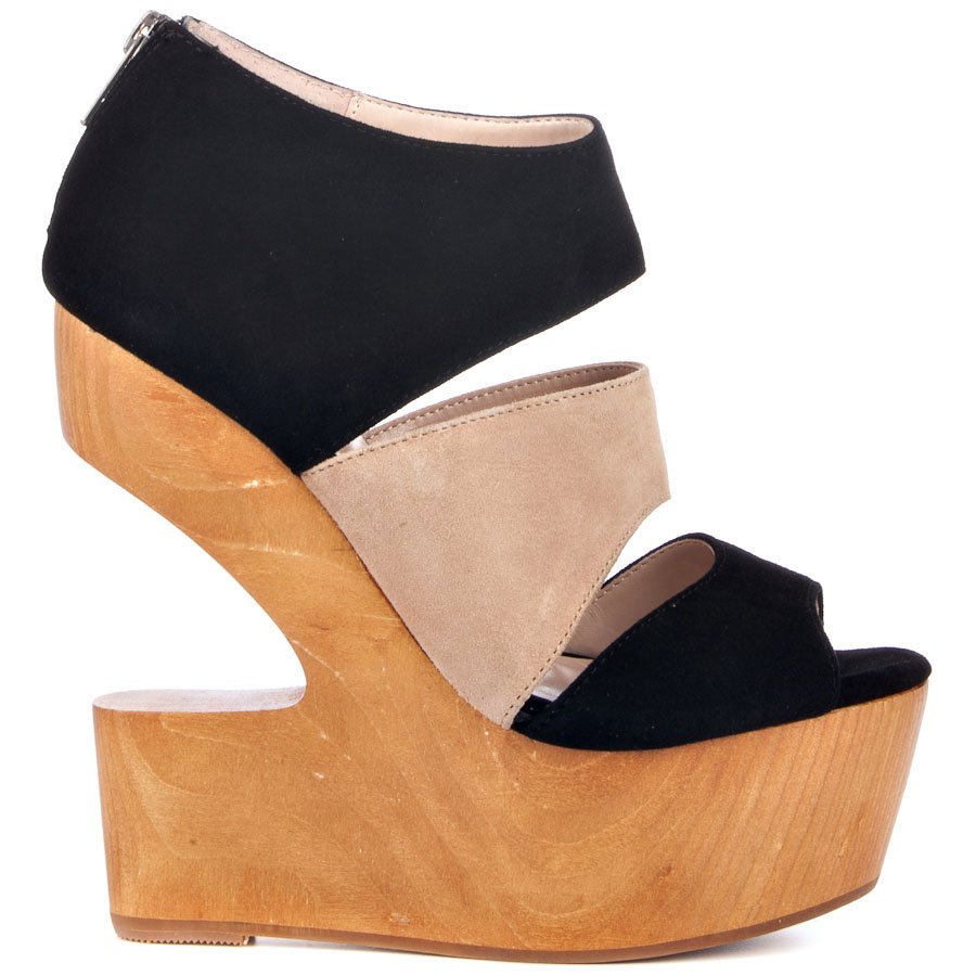 DOLCE VITA Julia in black suede $78.99 (on sale), Heels.com