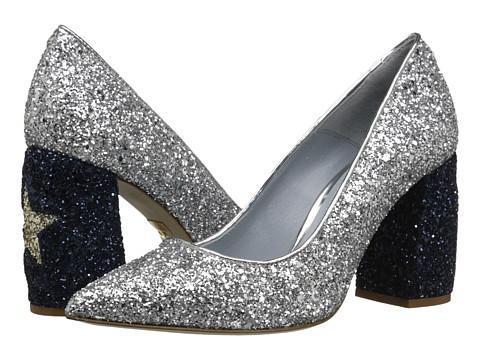 CHIARA FERRAGNI Glitter heels $465.00, Heels.com