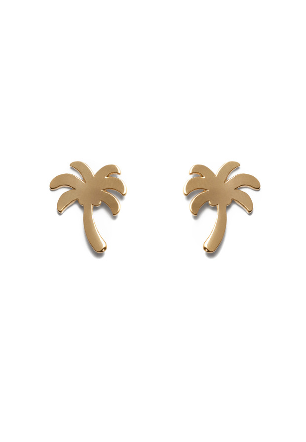 VACAY EARRINGS GOLD $ 19.90