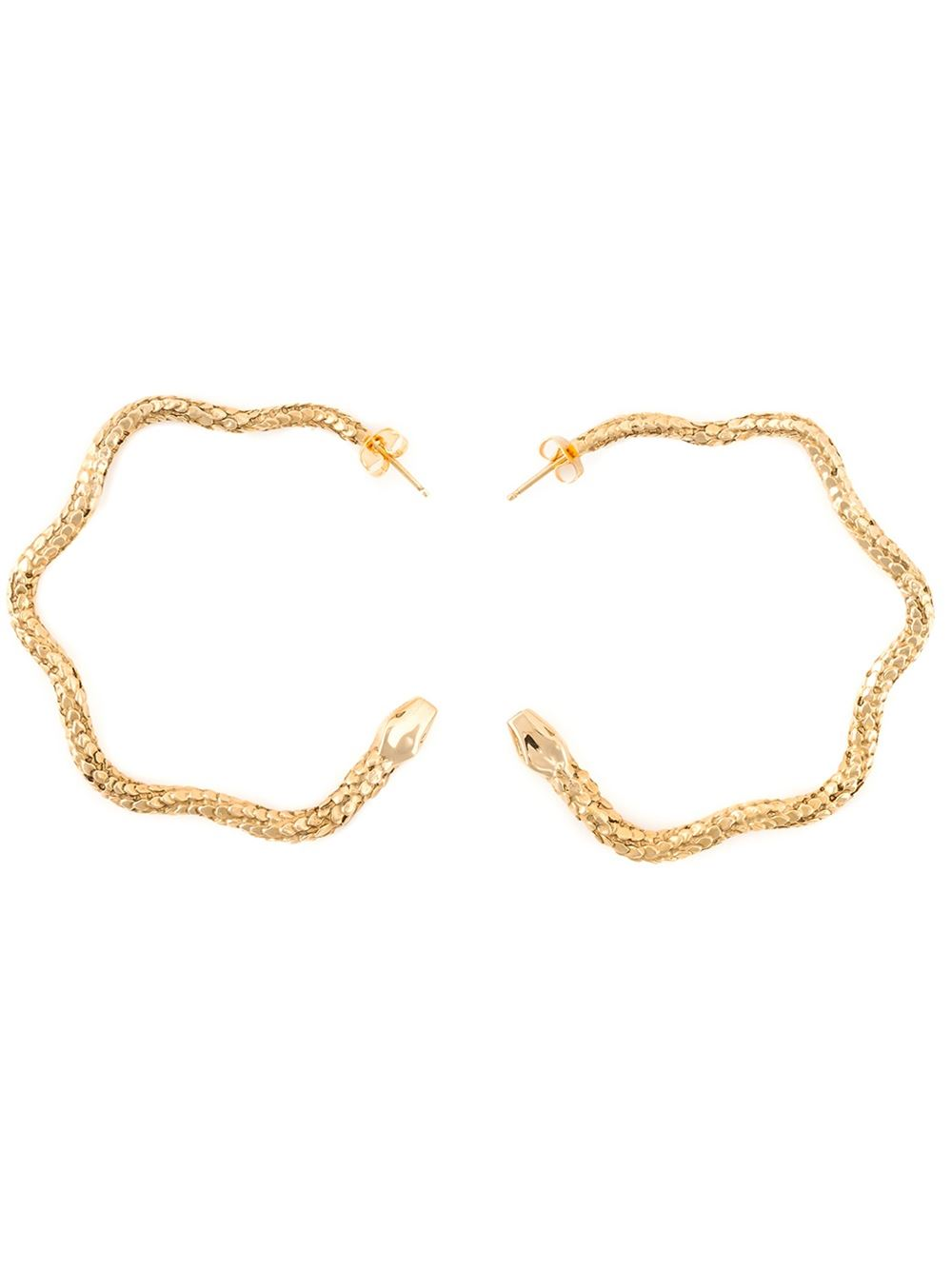 Aurelie Bidermann Tao hoop earrings | Shop Heaven Has Heels