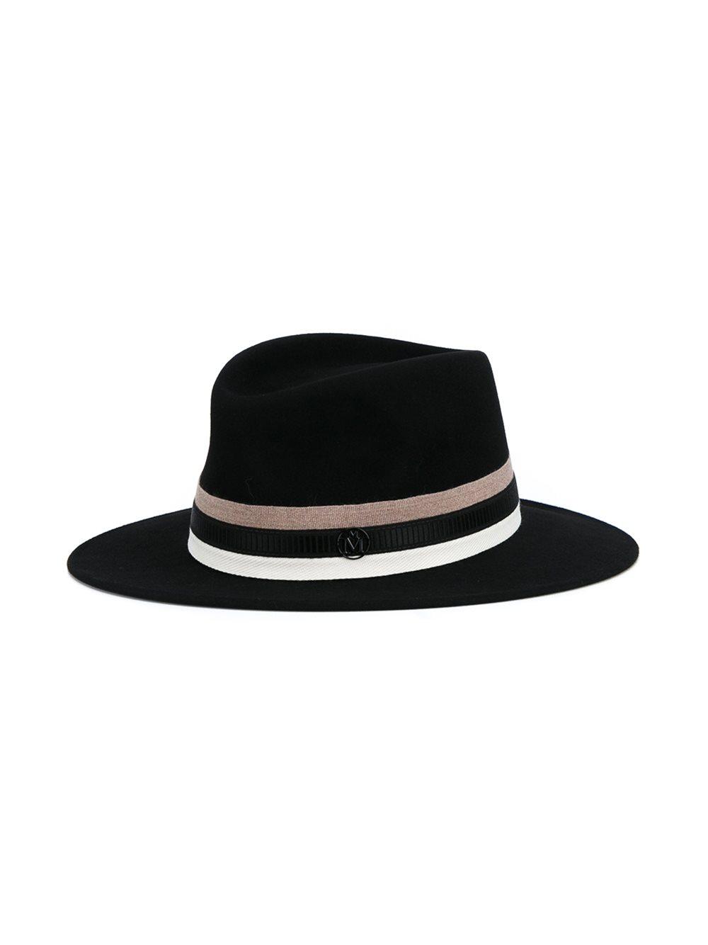 Maison Michel 'Thadee' trilby hat.jpg