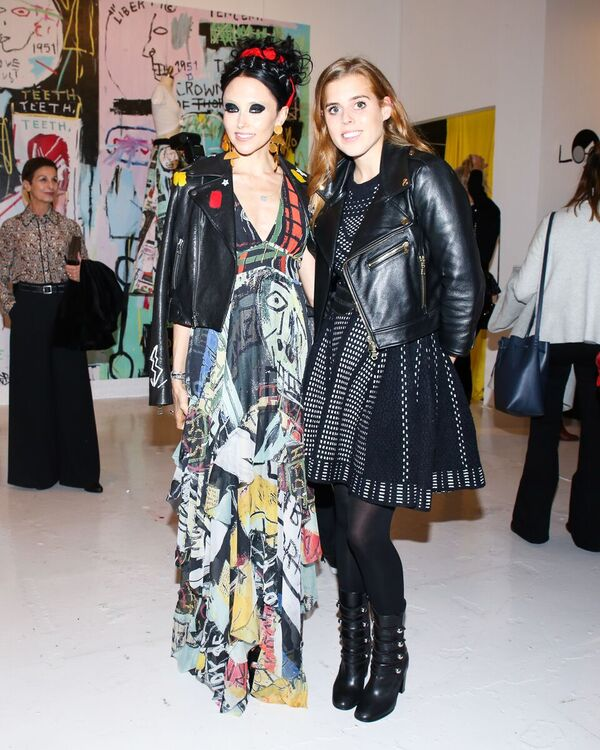Stacey Bendet and Princess Beatrice of York