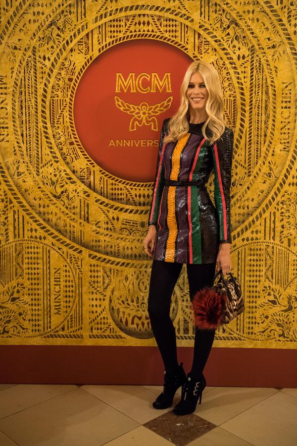 Claudia Schiffer for MCM | Heaven Has Heels