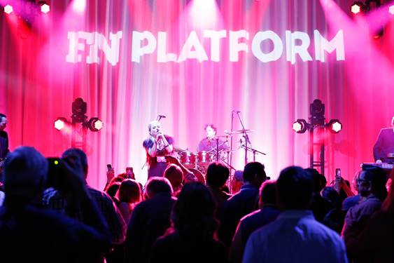 BERLIN OF 'TAKE MY BREATH AWAY' PERFORMED AT FN PLATFORM'S OPENING NIGHT CONCERT