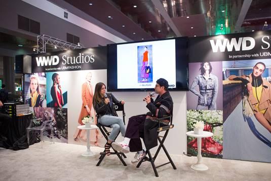 WWDMAGIC + WWD STUDIOS LAUNCHED THE WWD CONTENT STUDIO ON SHOW SITE