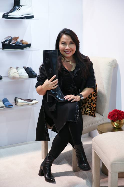 TARYN ROSE, THE ORIGINATOR OF LUXURY COMFORT SHOES FOR WOMEN, RELAUNCHED HER COLLECTION WITH GLOBAL BRANDS GROUP AT FN PLATFORM