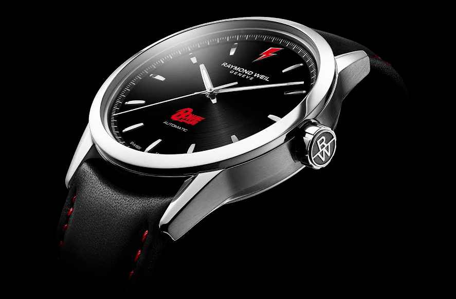Raymond Weil Launches David Bowie Freelancer