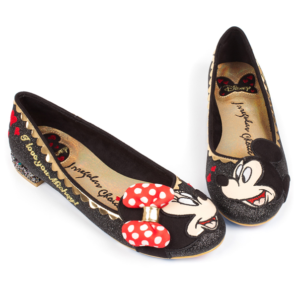 Mickey Mouse and Friends Irregular Choice // Heaven Has Heels