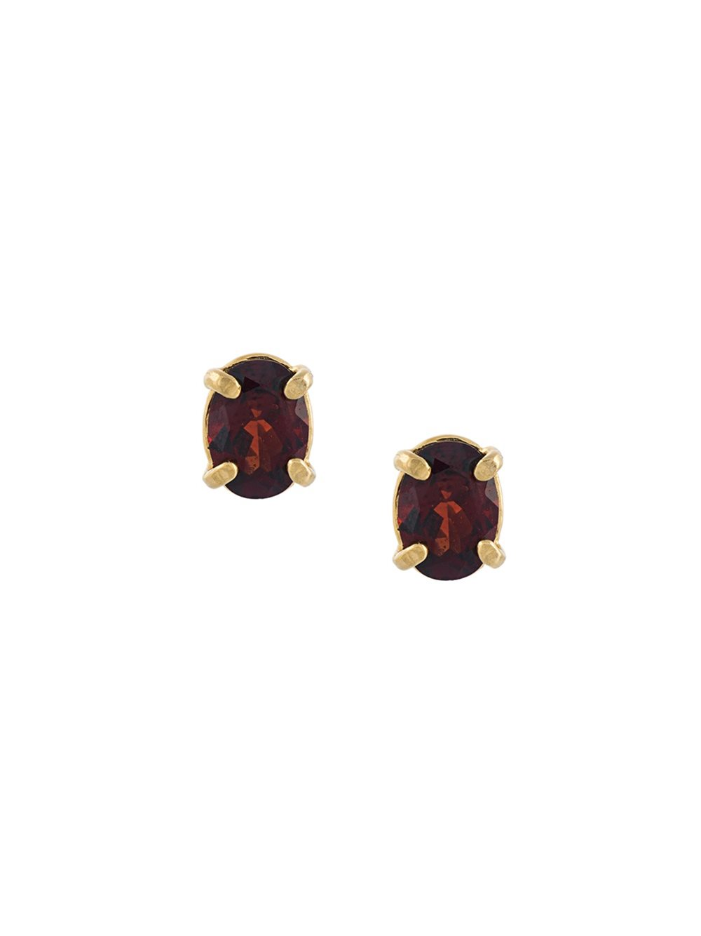 WOUTERS & HENDRIX In Mood For Love garnet earrings, FarFetch.com