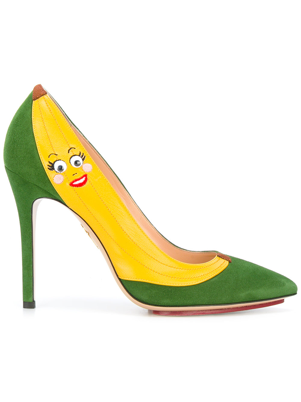 CHARLOTTE OLYMPIA Banana pumps, FarFetch.com